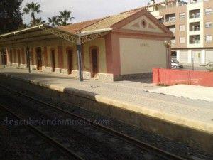 Estacion de Tren Beniel 300x225 Ha sido derribada la Estación de Trenes de Beniel
