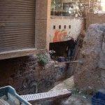 Muralla Arabe Murcia Anticuario calle Sagasta
