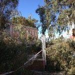 fuertes vientos Murcia Cuartel Artilleria