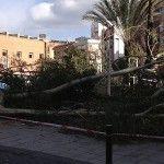 rachas de viento Murcia Cuartel Artilleria