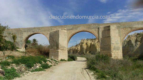 rio chicamo acueducto El río Chícamo y su puesta en valor