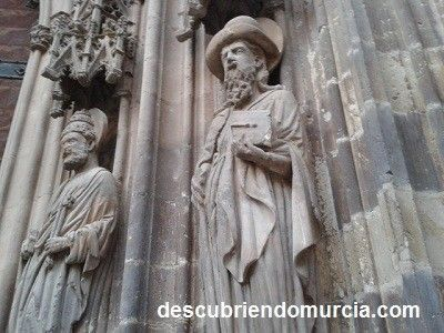 Apostol Santiago Catedral de Murcia El Apóstol Santiago y su llegada a Cartagena