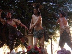 Los azotes Salzillo Murcia Exposición sobre Salzillo y su Viernes Santo en Santander