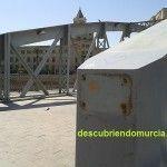 Puente Nuevo Hierro Murcia roban placas metal