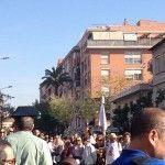 Romeria Virgen Fuensanta Murcia vias del tren