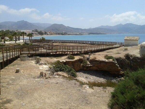 Banos de la Marrana Isla Plana Bahia Mazarron La curiosa historia de la Marrana que se bañaba en Isla Plana