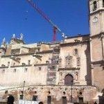 La Colegiata San Patricio, no estará lista para la Semana Santa de Lorca