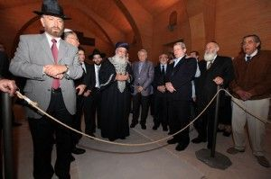 Gran Rabino Israel visita Sinagoga Castillo Lorca 300x199 El Gran Rabino Sefardita de Israel visita la sinagoga de Lorca