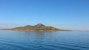 Isla del Baron Mar Menor Murcia 300x168 Una película india de cine fantástico en la Isla del Barón