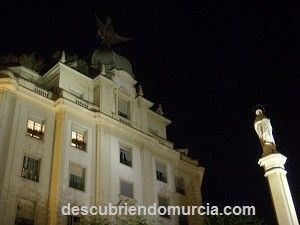 Plaza Santa Catalina Murcia Adoquines centenarios en la Plaza Santa Catalina de Murcia