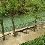 El abril más lluvioso, provoca al Segura más peligroso