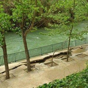 rio Segura Santuario de la Esperanza Murcia El abril más lluvioso, provoca al Segura más peligroso