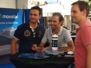 Alejandro Valverde Murcia 300x225 Alejandro Valverde, listo para el Tour de Francia