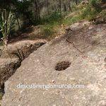 Piedra de molino en El Valle