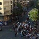 Manifestación en favor del soterramiento de las vías en Murcia