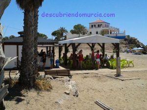 Playa de Nares Mazarron 300x225 Chiringuitos responsables para la costa de Murcia