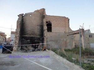 cae el Molino del Caballero Puebla de Soto Murcia 300x225 Se desploma el Molino del Caballero en Puebla de Soto