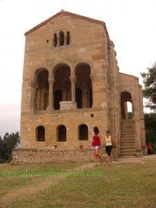 oviedo santa maria naranco 225x300 El Martyrium de La Alberca como Santa María del Naranco en Oviedo