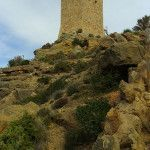 La torre hexagonal de Santa Elena en Cabo Tiñoso