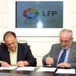 La Liga de Fútbol Profesional y la UCAM, firman un convenio de colaboración
