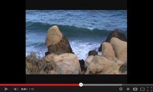 Cala del Palomarico Percheles Mazarron Curiosas formas rocosas en la cala del Palomarico de Percheles