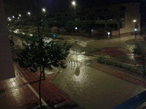 Rambla de Espinardo Murcia inundaciones 300x225 Rambla de Espinardo, anegada por la lluvia