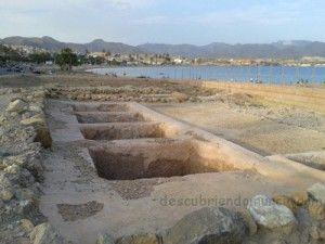 Villa Romana del Alamillo Mazarron 300x225 Conjunto romano en la playa del Alamillo en Mazarrón