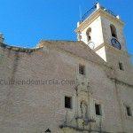 La iglesia de San José y la reliquia de la Santa Cruz de Abanilla