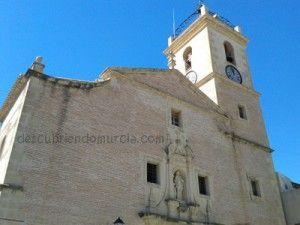 iglesia San Jose Abanilla Murcia 300x225 La iglesia de San José y la reliquia de la Santa Cruz de Abanilla