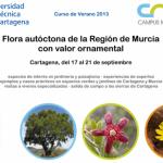 Curso sobre Flora Autóctona de la Región de Murcia