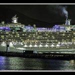 Una de cruceros en el puerto de Cartagena