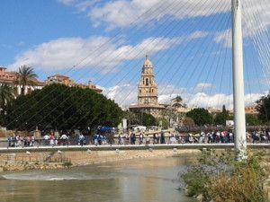 Calle Cartagena 300x225 Calle Cartagena y el antiguo puente que cruzaba el Segura