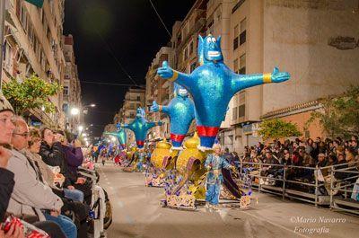 Carnaval Aguilas Carnavales de Águilas una fiesta de Interés Turístico Nacional