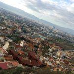 Monteagudo visto desde el cerro