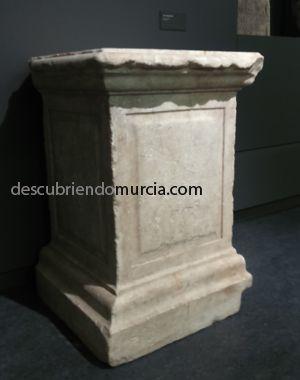 Murcia romana El templo romano de Monteagudo y sus famosas columnas