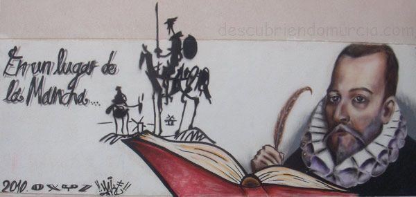 instituto el carmen grafo el quijote murcia Miguel de Cervantes y las vengativas mozas de Alguazas