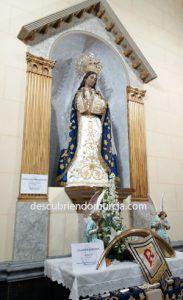 Virgen Amor Hermoso Cartagena 183x300 Semana Santa Cartagena y la devoción de sus pescadores