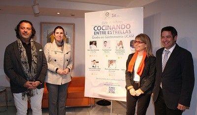 """Cocinando entre Estrellas Michelin Murcia """"Cocinando entre Estrellas"""", 6 Estrellas Michelín en Murcia"""