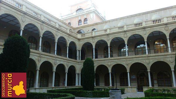 Claustro Merced Murcia Congreso Nacional de Jóvenes Historiadores del Arte en Murcia