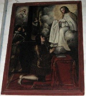 La Merced Murcia Un extraño cuadro en la Iglesia de La Merced de Murcia