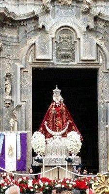 Virgen Fuensanta Murcia Uno de los que salvó a la Virgen de la Fuensanta