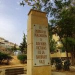 Monumento a los deportados en Mazarrón