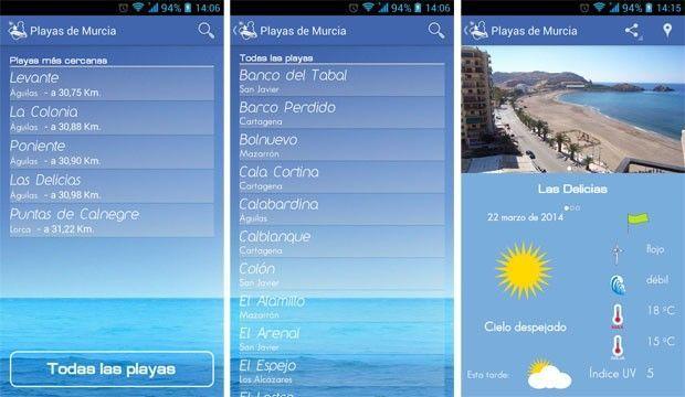 Playas de Murcia Playas de Murcia, conoce el estado de las playas de la Región