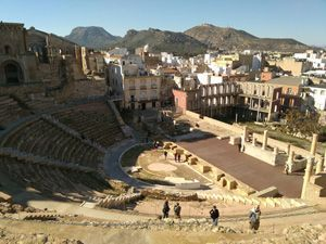 Teatro Romano Cartagena 1 Cartagena. Sitiada, saqueada, arrasada y expoliada.