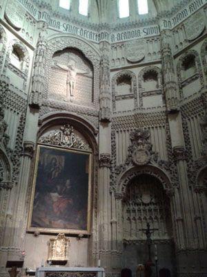 Capilla de los Velez Alumbre en Mazarrón y la Capilla de Los Vélez en la Catedral