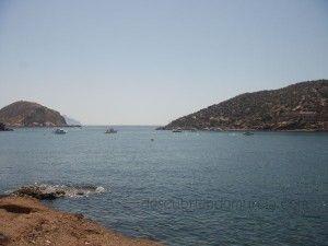 Playa de la Isla Mazarron Murcia