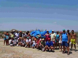 Encanizadas Mar Menor Limpiando las Encañizadas del Mar Menor