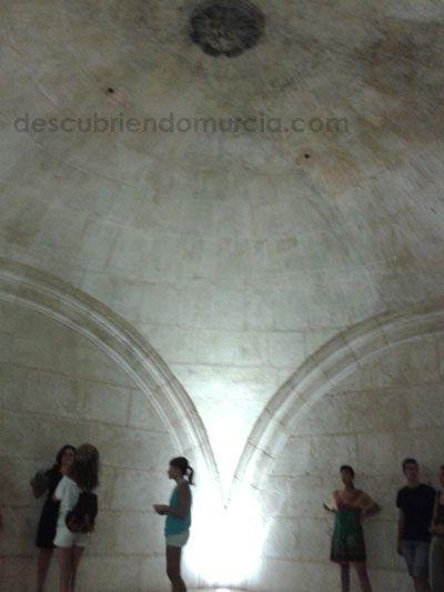 Torre Catedral Murcia Secretos Sala de los secretos en la torre de la Catedral de Murcia