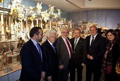 Belen Napolitano El Belén Napolitano se queda en el Museo Salzillo de Murcia