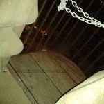 El quinto conjuratorio en la torre de la Catedral de Murcia
